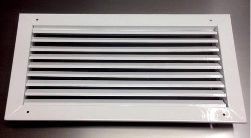 Rejilla de ventilacion 40x20 retorno construccion en venta - Rejilla de ventilacion regulable ...