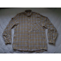 Camisa Macowens Leñadora Escocesa Talle 43/44 = Xl M/largas