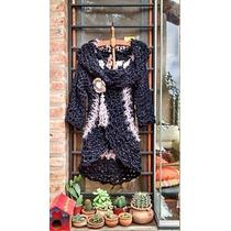 Saco Circular Al Crochet - Tejidos Artesanales
