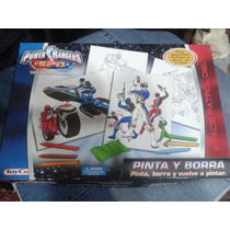 Pinta Y Borra - Toyco - Power Rangers