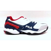 Zapatillas Fila Icon Plus Tenis Padel Voley Indoor Envíos