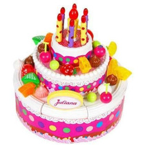 Juliana Torta Feliz Cumpleaños Modelo Grande Bunny Toys