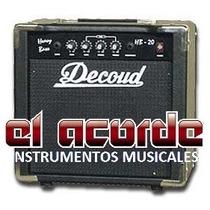 Amplificador De Bajo Decoud Hb20 20w - El Acorde - Pacheco