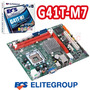 Mother 775 Ecs G41t-m7 Ddr3 Intel G41 Pcie Garantia Outlet