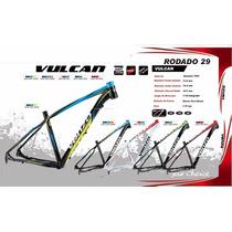 Cuadro Venzo Vulcan R29 Aluminio 7005 Competición