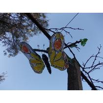 Mariposa Colgante Vitrofusion Souvenir O Decoracion