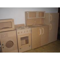 Muebles Infantiles Cocina Sin Pintar