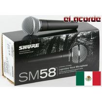Microfono Shure Sm58-lc Original Mexico - El Acorde Pacheco