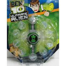 Reloj Ben 10 Omnitrix Omniverse Luz Sonidos Art Importado