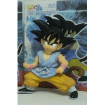 Dragon Ball Figura Goku Gt Banpresto Hq Dx Nuevo 20 Cm
