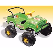 Jeep A Pedal Reforzado Auto Karting Reforzado Patonas Niños