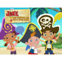 Kit Imprimible 2x1 Jake Y Los Piratas Candy Bar + Cotillon