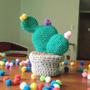 Cactus De Diseño Tejidos En Crochet. Varios Modelos.