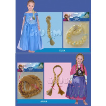 Accesorio Trenzas Disfraz Frozen O Rapunzel New Toys Jiujim