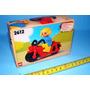 Lego Duplo 2612 Moto Muñeco Casco Suiza Original Nuevo