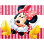Kit Imprimible Minnie De Disney 2en1 (candy Bar + Cotillon)