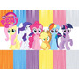 Kit Imprimible 2x1 My Little Pony Candy Bar Cotillon Pequeño