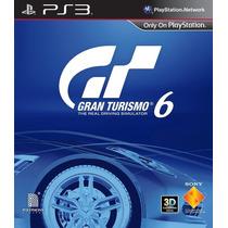 Gran Turismo 6 Ps3 Tienda Virtual