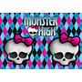 Kit Imprimible Monster High 2en1 Candy Bar + Cotillon Y Mas!