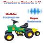 Tractor A Bateria 6v Rodado Rodacross
