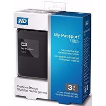 Disco Rigido Portatil Wd Western Digital My Passport 3tb Usb