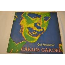 Carlos Gardel Que Fenómeno! Lp Vinilo