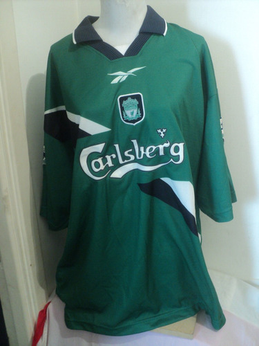 afd564bf6fa Camiseta Reebok Liverpool Nº11 Redknapp 1996 97 England Uk