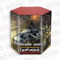 Torta Pirotecnia Halcon Negro Fuegos Artificiales