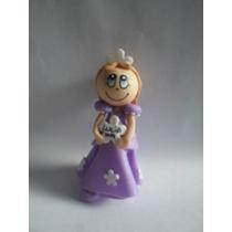 Souvenirs Princesas De Disney Porcelana Fría X 10unidades