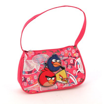 Cartera Angry Birds Con Estampa Metalizada
