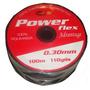 Tanza Para Pesca Power Flex 30 O 40 Mm X 100 Metros