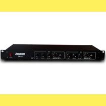 Crossover Lexsen Cr223 / 2 Vías Estéreo / 3 Mono / Dj / Rack
