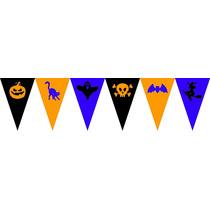 Banderines Guirnaldas Personalizadas - Decorado - Halloween