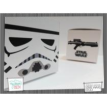 Souvenir Eventos Cumpleaños Caja Lego Star Wars Soldado Impe