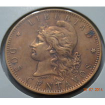 A106 - 2 Centavos 1884