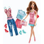 Barbie Muñeca Fashion Mall,accesorios,ropa,zapatos Cordoba