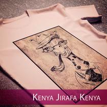 Remera Kenya Hombre Basica Manga Corta, Personalizada