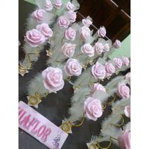 50 Souvenirs Rosas Con Pluma 15 Años