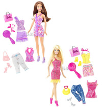 Barbie Vestidos Ropas Intercambiables Original Mattel Jiujim