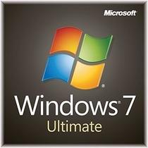 Windows 7 Ultimate Retail - Licencia Original - 32/64 Bits
