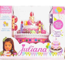 Torta Juliana Modelo Chica Con Musica Jugueteria El Pehuen