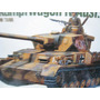 Tanque Panzerkampfwagen German Escala 1/35 Academy