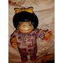 Antigua Muñeca Mafalda Grande Quino-43cmts.juguete Antigu