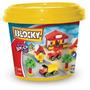 Blocky Balde Basico 2 X 150 Pzas Nene -fabrica Rasti