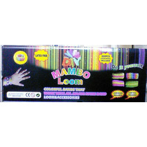 Loom Band Mambo Telar Fabrica Pulsera 600 Gomitas Ganchitos