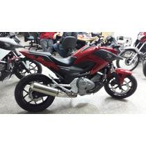 Jm-motors Honda Nc 700 X Roja Año 2016 Entrega Inmediata