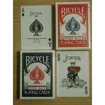 Cartas Naipes Bicycle Rider Back Originales - Magia O Poker