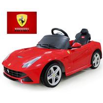 Nuevo Ferrari F12 Berlinetta A Bateria Control + Mp3 2 Veloc