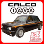 Calcomania Fiat 128 Iava Tv 1300