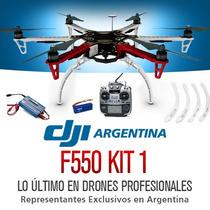 Cuadricoptero Dji Profesional F550 Gps Hd Bateria Camara